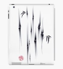 Dreamland - sumie ink brush zen bamboo painting by Rebecca Rees iPad Case/Skin