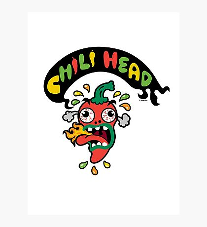 Chili Head    Photographic Print