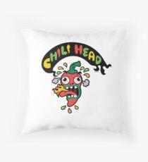 Chili Head    Throw Pillow