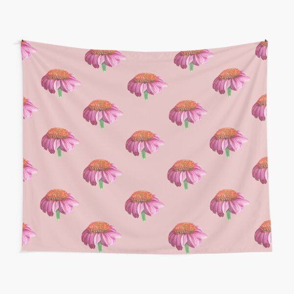 Purple cone flower Tapestry