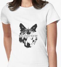 """Brandneu """"Wolf"""" Tailliertes T-Shirt für Frauen"""