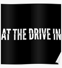 At the Drive-in • White Poster
