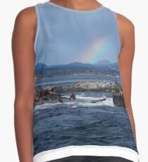 Rainbow at Race Rocks Contrast Tank