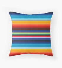 Traditional Seamless Mexican Vintage Pattern Throw Pillow