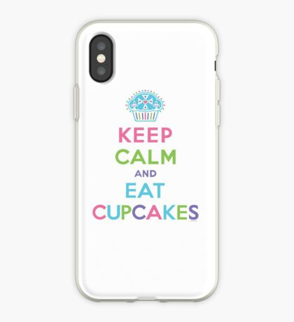 Keep Calm and Eat Cupcakes     iPhone Case