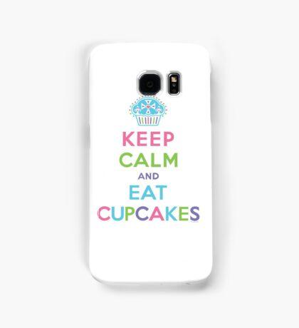 Keep Calm and Eat Cupcakes     Samsung Galaxy Case/Skin