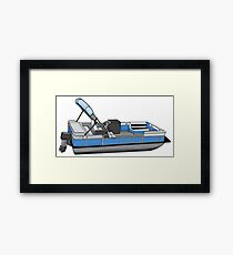 Pontoon Framed Print