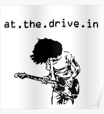 At the Drive-in • Black Poster