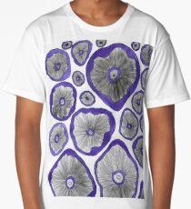 Mushroom Caps Long T-Shirt