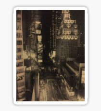 Times square, New York Sticker
