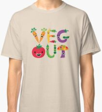 Veg Out - maize Classic T-Shirt