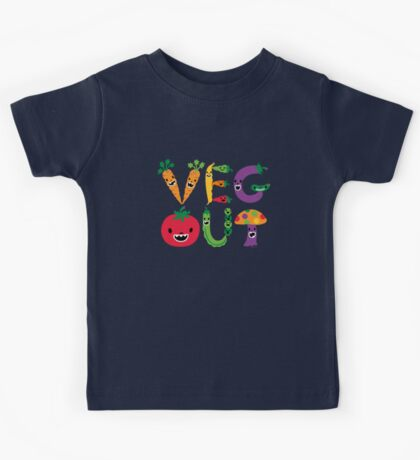 Veg Out - maize Kids Clothes
