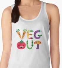Veg Out - maize Women's Tank Top