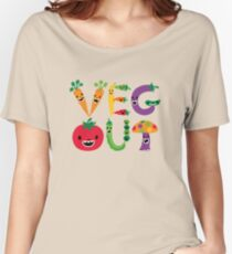 Veg Out - maize Women's Relaxed Fit T-Shirt