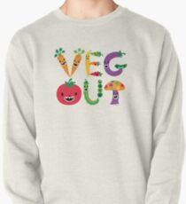 Veg Out - maize Pullover