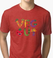 Veg Out - maize Tri-blend T-Shirt