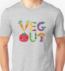 Veg Out - maize Unisex T-Shirt