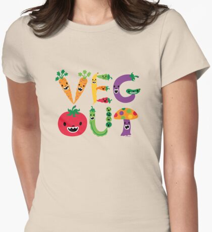 Veg Out - maize T-Shirt