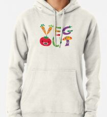 Veg Out - maize Pullover Hoodie