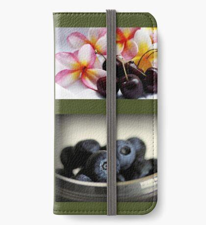 Impressionen des Sommers iPhone Flip-Case