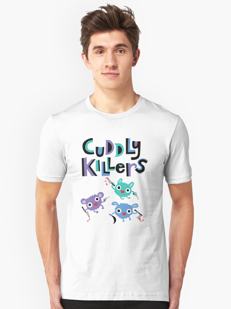 Cuddly Killers Unisex T-Shirt Front