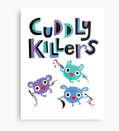 Cuddly Killers Metal Print