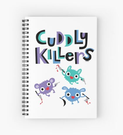 Cuddly Killers Spiral Notebook