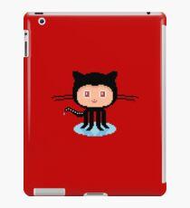 Git Hub Octocat Pixelart iPad Case/Skin