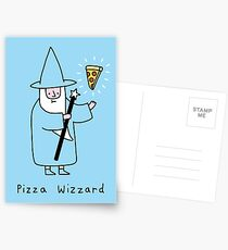 Pizza Wizzard Postcards