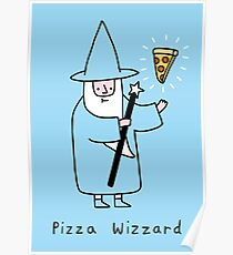 Pizza Wizzard Poster