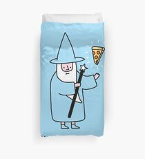 Pizza Wizzard Duvet Cover