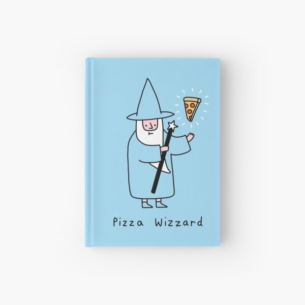 Pizza Wizzard Hardcover Journal