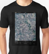USGS TOPO Map Iowa IA Pleasanton 20100429 TM Inverted Unisex T-Shirt