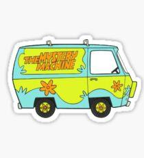 Scooby Doo Van Sticker