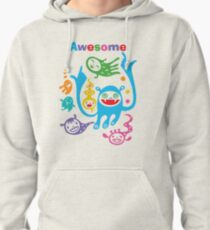 Stay Awesome - light  Pullover Hoodie
