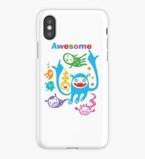 Stay Awesome - light  iPhone Case