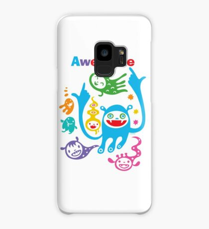 Stay Awesome - light  Case/Skin for Samsung Galaxy