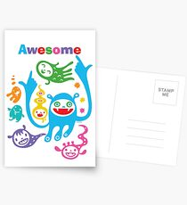 Stay Awesome - light  Postcards