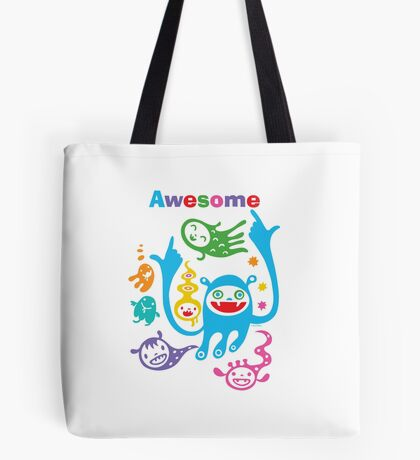 Stay Awesome - light  Tote Bag