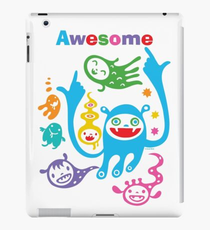 Stay Awesome - light  iPad Case/Skin