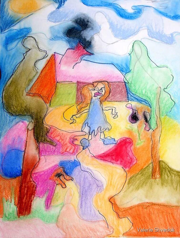 Abstraction fantasy by Valerie Shvedok
