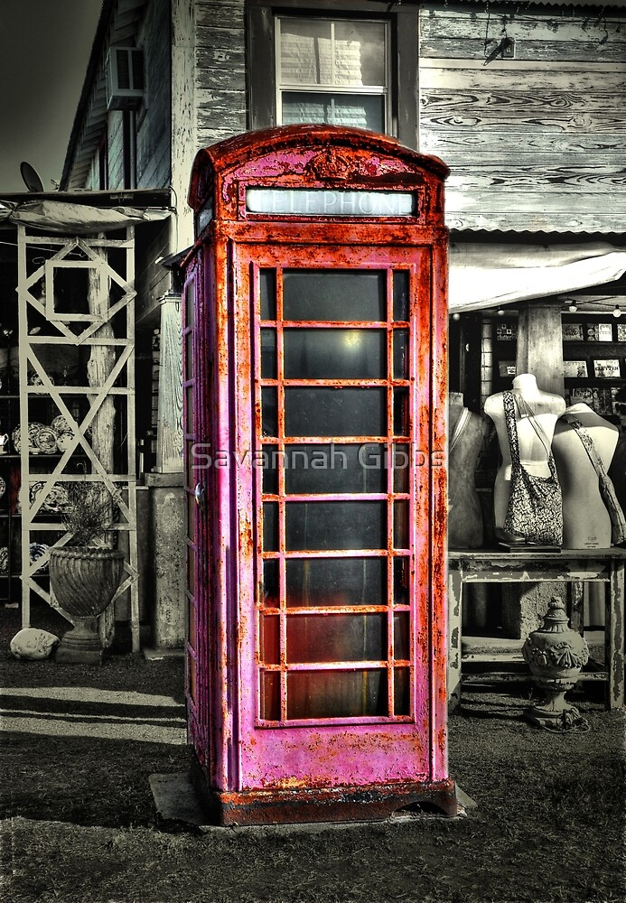 Phone Booth by Savannah Gibbs