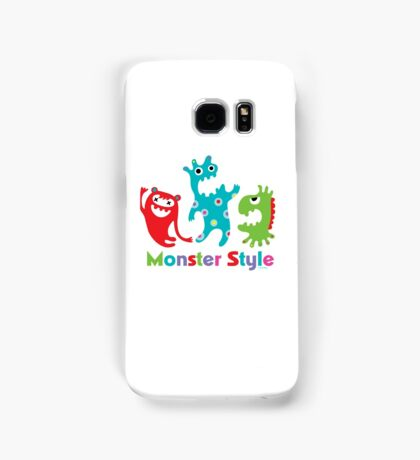 Monster Style - light Samsung Galaxy Case/Skin