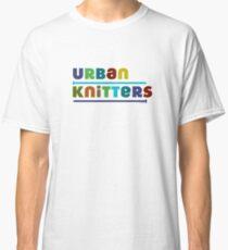 Urban Knitters - blues Classic T-Shirt
