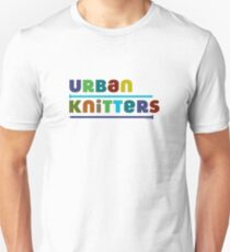 Urban Knitters - blues Unisex T-Shirt