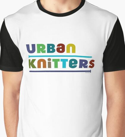 Urban Knitters - blues Graphic T-Shirt