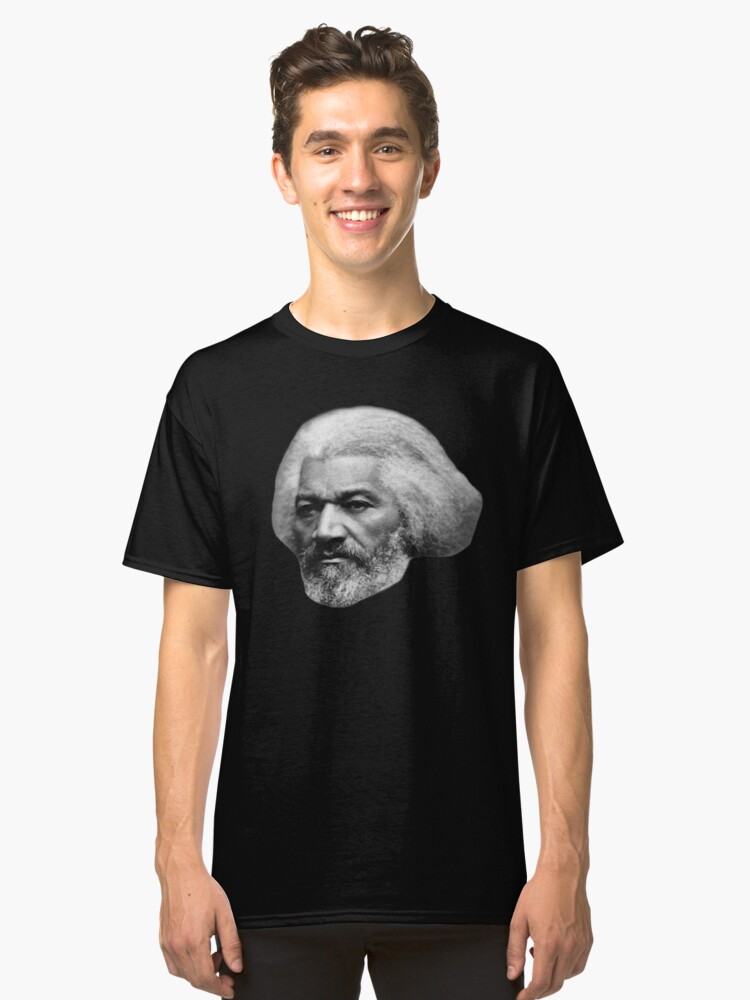 Older Frederick Douglass top quality 1 Classic T-Shirt Front