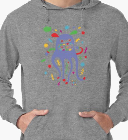 critter awesome - light Lightweight Hoodie
