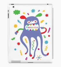 critter awesome - light iPad Case/Skin