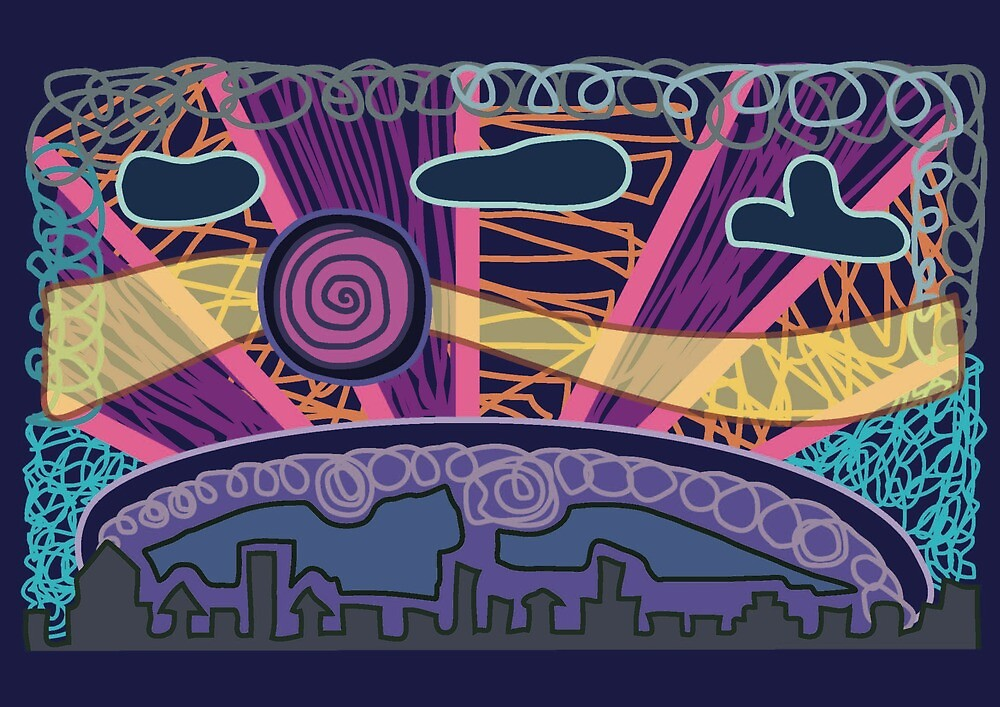 City Night Light by JoseProductions